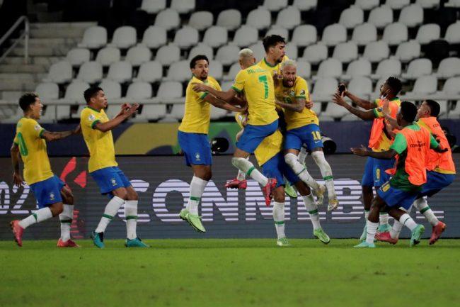 कोपा अमेरिका फुटबलमा ब्राजिलको संघर्षपूर्ण जित