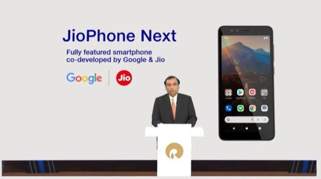 मुकेश अम्बानीले जियोफोन नेक्स्ट लञ्च गरे, संसारकै सबैभन्दा सस्तो स्मार्टफोन भएको दावी
