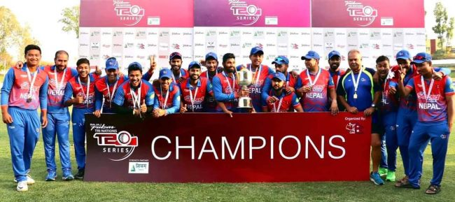नेपाल, स्कटल्याण्ड र नामिबियाबीचको एकदिवसीय क्रिकेट सिरिज स्पेनमा हुने