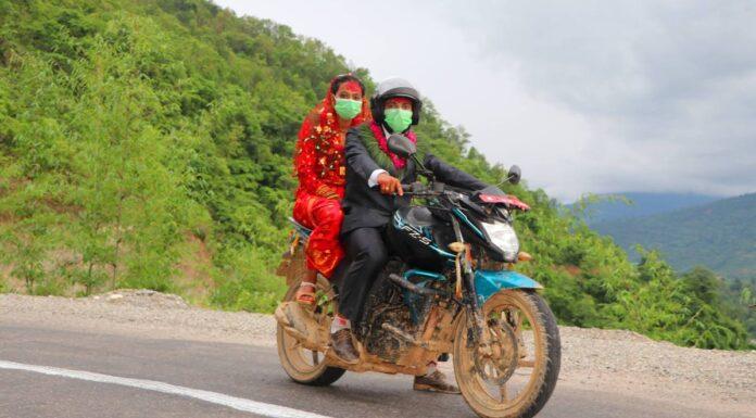 जब बेहुलाले मोटरसाइकलमै बेहुली भित्र्याए
