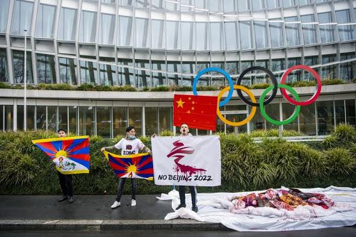 सन् २०२२ को बेइजिङ ओलम्पिक स्थगित गर्न चिनियाँ आप्रवासीको माग