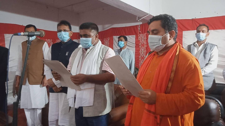 माओवादी केन्द्र प्रदेश २ सरकारमा सहभागी, दुई मन्त्रीको शपथग्रहण