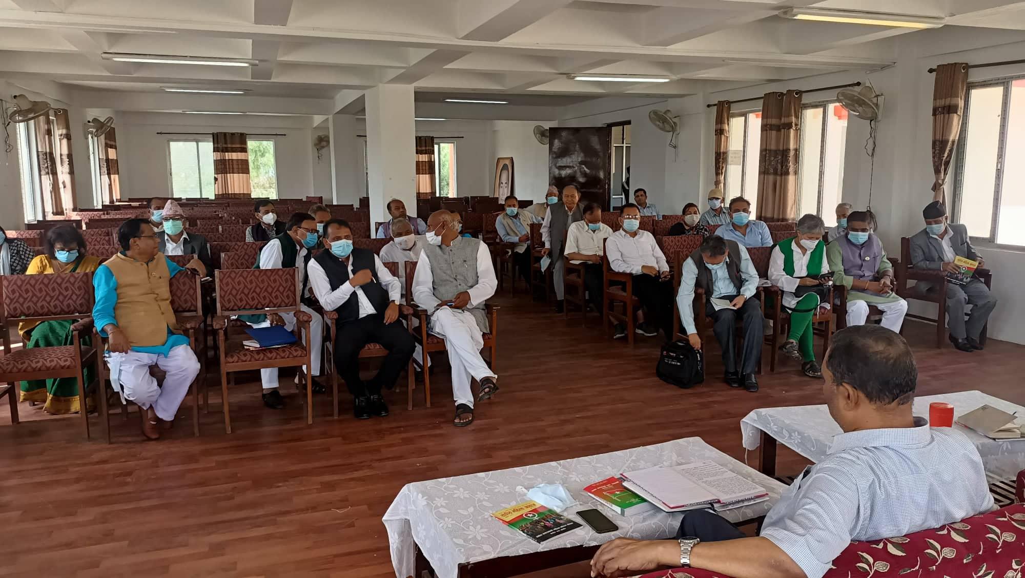 मन्त्री छान्न जसपाको कार्यकारिणी समिति बैठक जारी