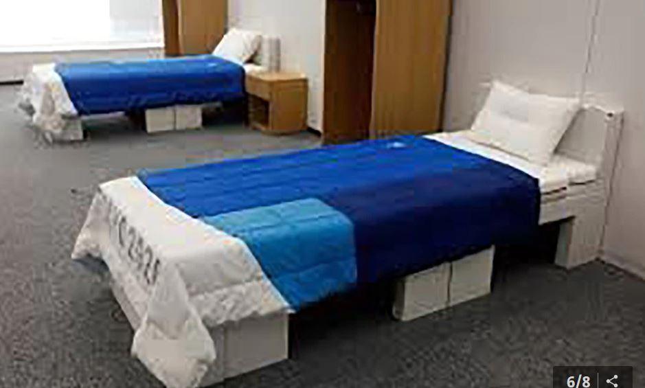 टोकियो ओलम्पिकमा खेलाडीलाई सेक्सबाट विमुख बनाउन बनाइयो यस्ता बेड