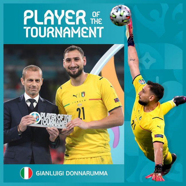 इटालीका गोलकिपर जियानलुइजी बने युरोकपको सर्वोत्कृष्ट खेलाडी