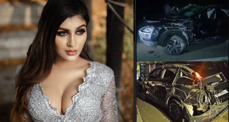 अभिनेत्री यशिका आनन्द कार दुर्घटनामा गम्भीर घाइते, साथीको घटनास्थलमै मृत्यु