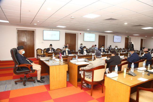 सीसीएमसी बैठकः कोभिड–१९ महामारी नियन्त्रणको रणनीति बनाइँदै