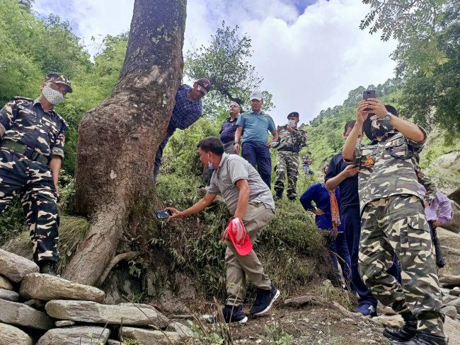 दार्चुला तुइन घटना प्रकरण : सात दिनपछि छानबिन समितिद्वारा घटनास्थल निरीक्षण