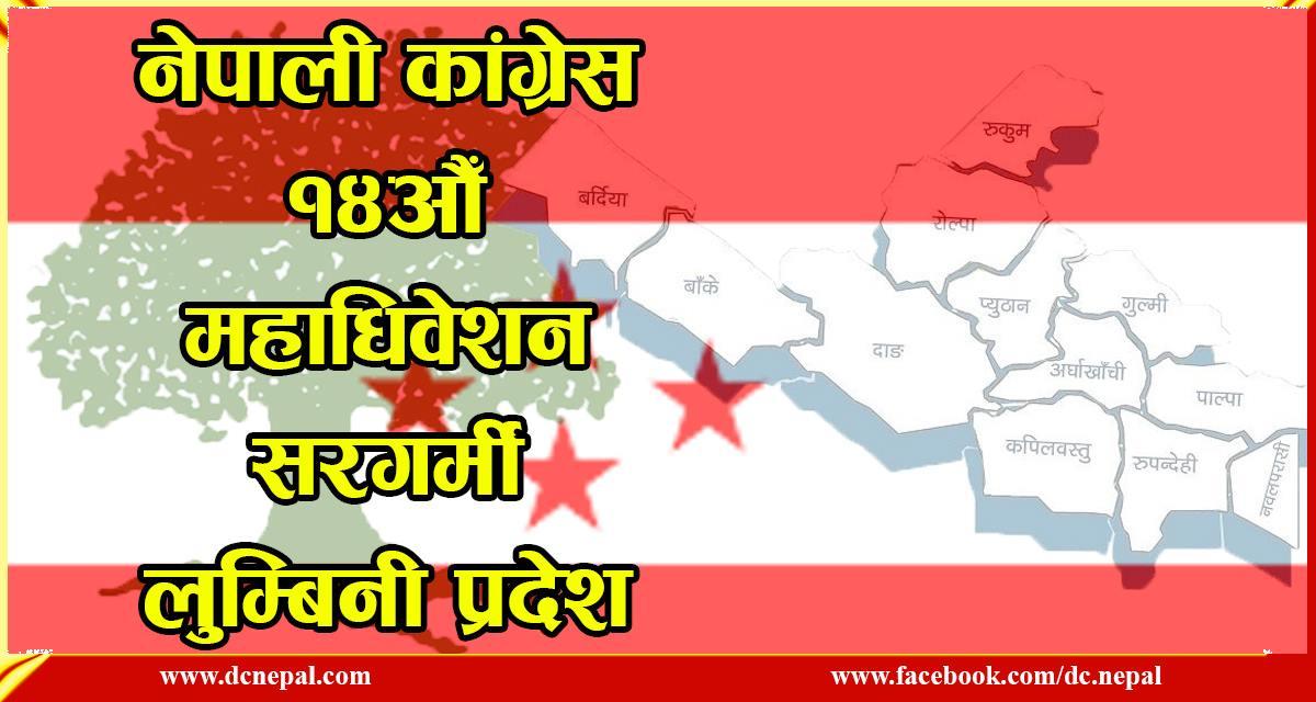 कांग्रेस महाधिवेशन : लुम्बिनी प्रदेशमा को–को छन् जिल्ला सभापतिको आकांक्षी?