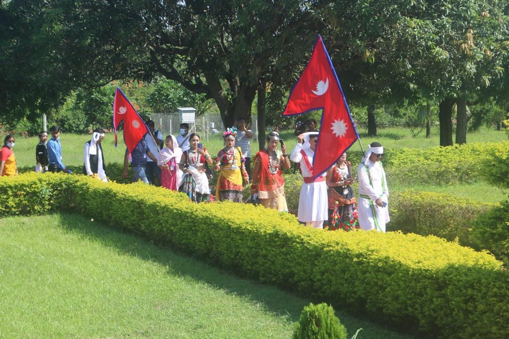 विश्व पर्यटन दिवसमा विदेशी पर्यटकलाई मनाङमा स्वागत