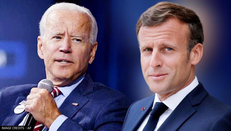 फ्रान्सले अमेरिकासँग स्पष्टीकरण माग्यो, फ्रेन्च राष्ट्रपतिले बाइडेनलाई वास्ता गर्न छाडे