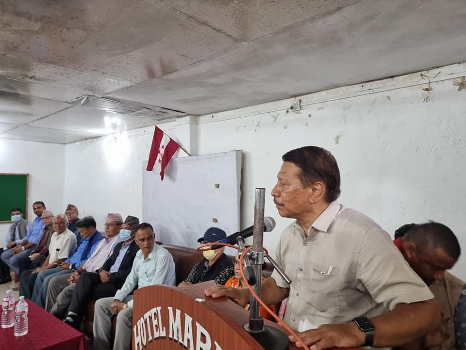 गजेन्द्र हमालको नियुक्ति र राजीनामाबारे प्रधानन्यायाधीशले स्पष्टीकरण दिनुपर्छ: प्रकाशमान सिंह