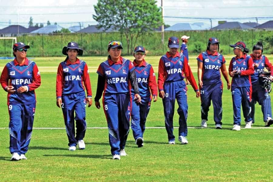 एसियाली छनोट खेलका लागि २४ महिला क्रिकेटर छनोट