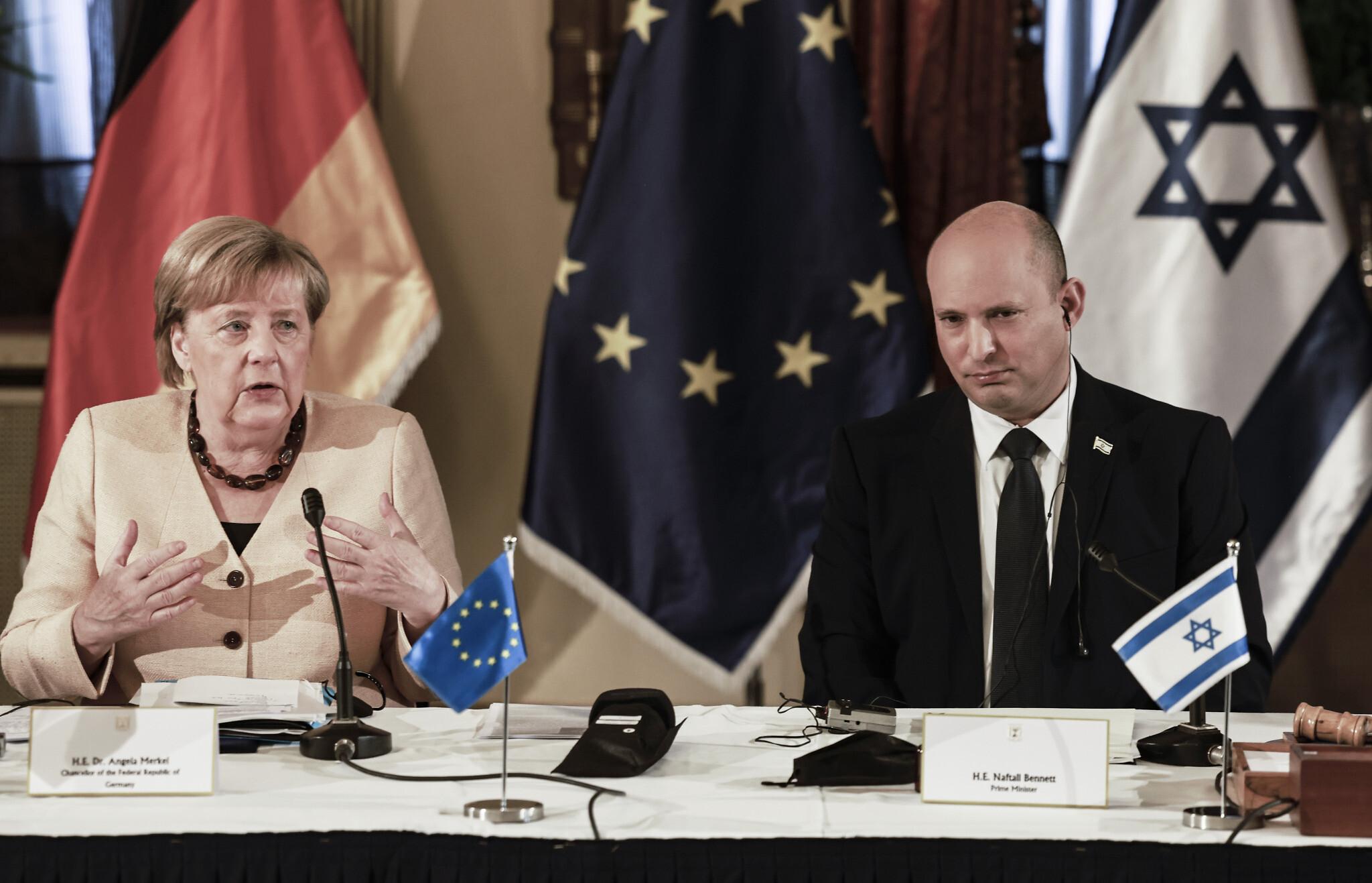 जर्मन चान्सलर एंगेला मर्केलले इजरायल पुगेर इरानका विषयमा अहम घोषणा गरिन्