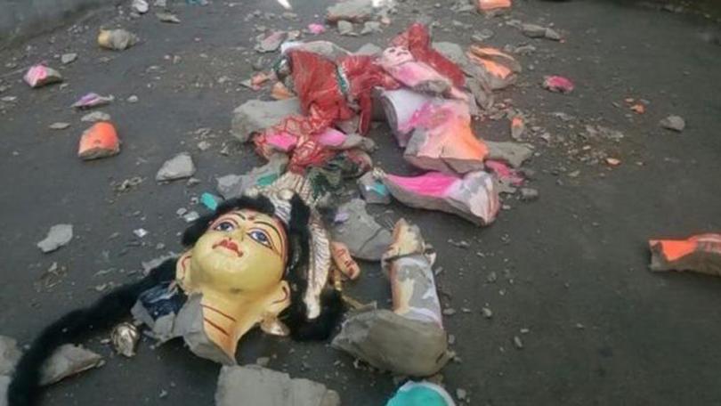 बंगलादेशमा दुर्गा पूजामा हिन्दूमाथि हमलाः धार्मिक हिंसा भड्किन नदिन सुरक्षाकर्मी हाइ अलर्टमा