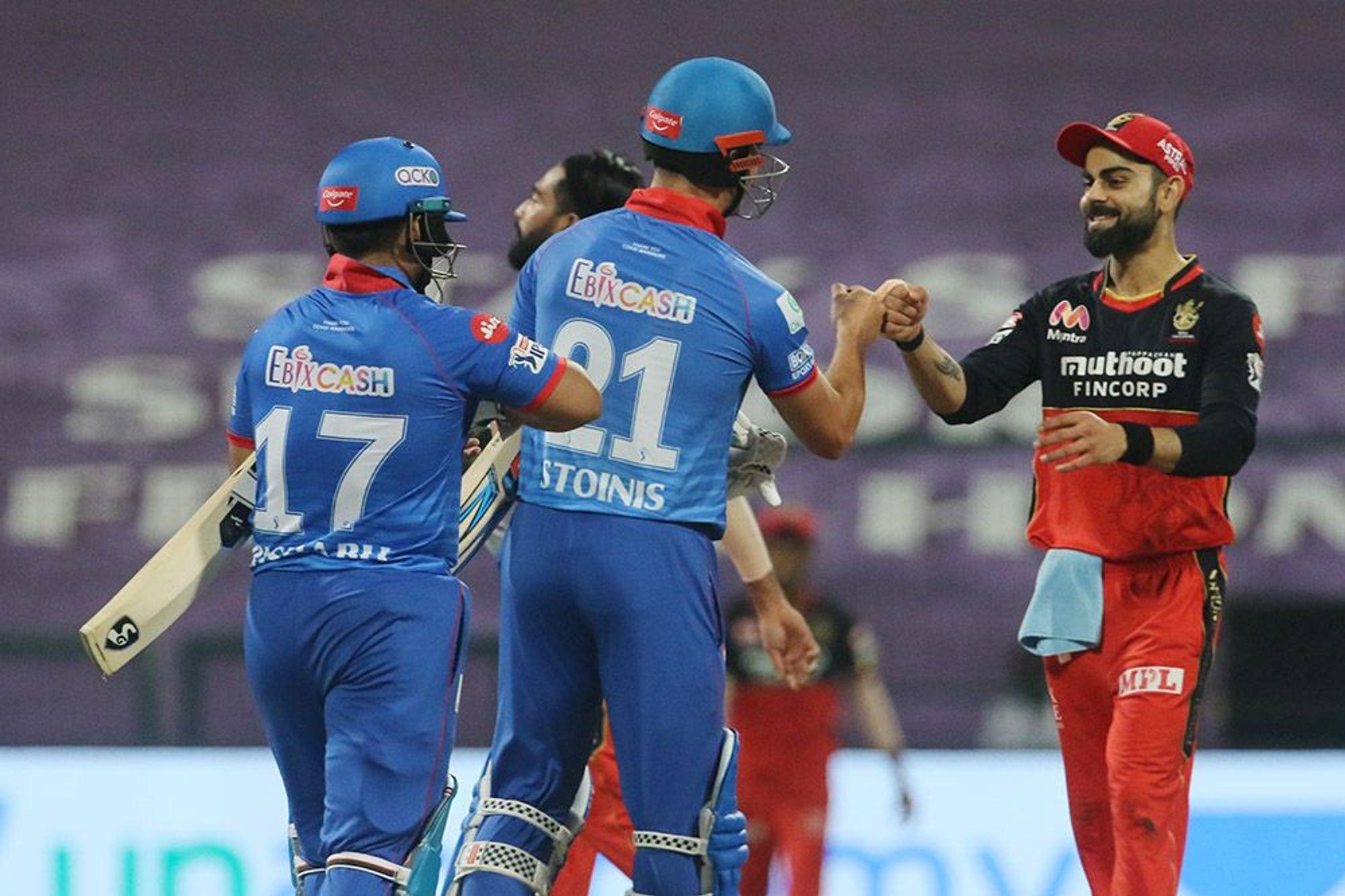 बेंगलोर पराजित हुँदा दिल्ली आईपीएलकाे शीर्ष २ मा पर्ने पक्का, फाइनल जान २ मौका पाउने