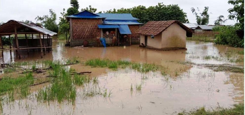 झापामा ३६१ परिवार विस्थापितः टेलिफोन, बिजुली र बिमानस्थल अबरुद्ध