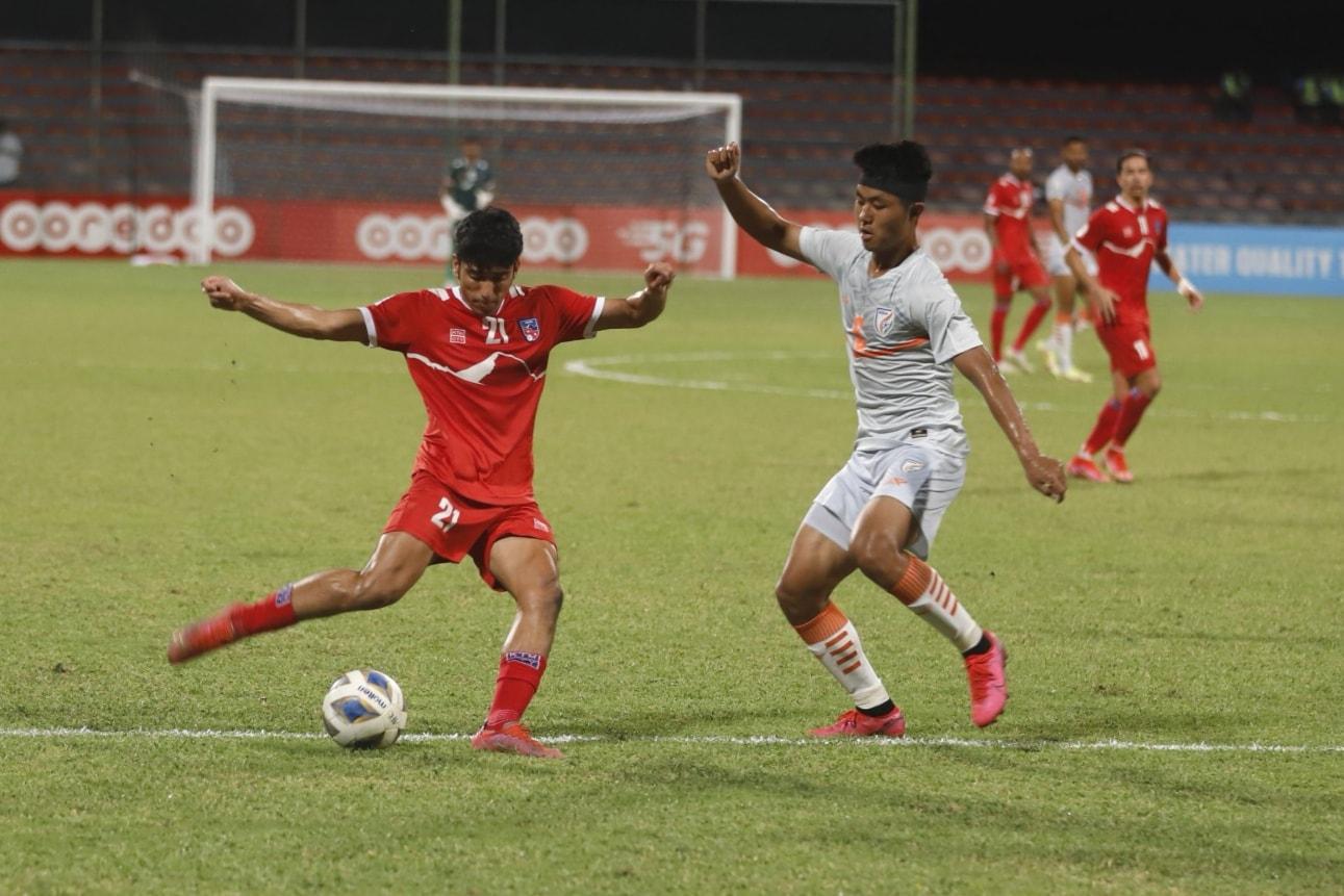 नेपाल भारतसँग पराजित, भारतको फाइनल पुग्ने सम्भावना जिवित
